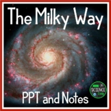 Welcome to the Milky Way Galaxy! PPT, Student Notes, and More!
