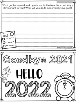 Welcome to the New Year! {Hello 2018 Minibook & More Freebie}