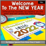 Happy New Year 2021 | Flapbook, Writing Prompts, New Year's Resolutions