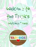 Welcome to the Tropics - Back to School Forms (BILINGUAL)