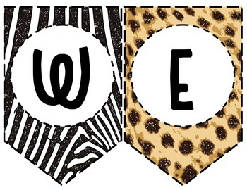 Welcome to the Zoo/Jungle Banner