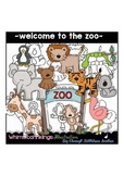 Welcome to the Zoo Clipart Collection