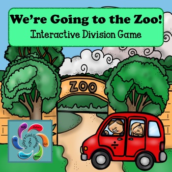 Interactive Division Games- We're Going to the Zoo!