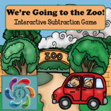 Interactive Math Game (Subtraction) We're Going to the Zoo!