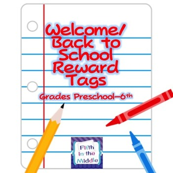 Back to School Brag Tags