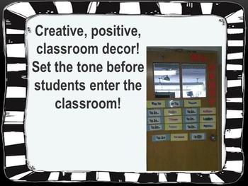 Welcoming Classroom Door