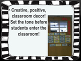 Welcoming Classroom Door