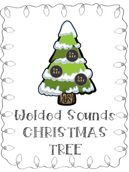 Welded Sounds Christmas Trees- Orton Gillingham Aligned
