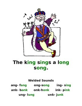 Welded Sounds (ang, ing, ong, unk)  Controlled Reading and Word Lists