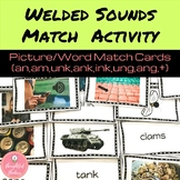Welded Sounds Word/ Picture Match Activity