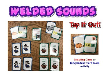 Welded Sounds -Step 2.1- (glued sounds) TAP IT OUT !    Matching Game