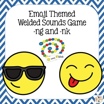Welded Sounds (-ng and -nk) Emoji Themed Game