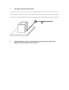 Welding Symbols Assignment
