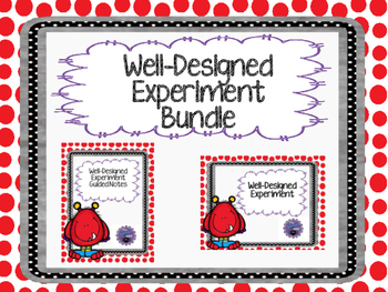 Well-Designed Experiment Guided Notes and PowerPoint Bundle