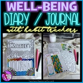 Social Emotional Learning Well-being Journal for students and teachers