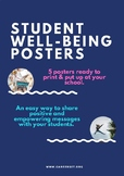 Well-being Posters For Your School or Counselling Office
