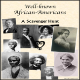 Well-known African-Americans: A Scavenger Hunt