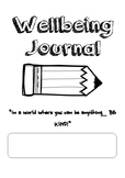 Wellbeing Journal - Title Page and Cover Page
