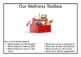 Wellness Action Plan flipchart prompts