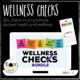 Wellness Check Bundle B Google Forms daily SEL mental health distance learning