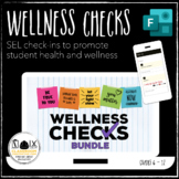 Wellness Check Bundle Microsoft Forms daily SEL mental health distance learning
