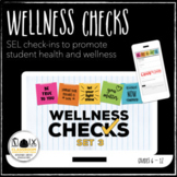 Wellness Checks 3 Google Forms daily SEL mental health distance learning
