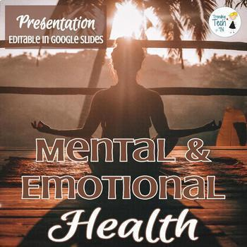 Wellness - Mental and Emotional Health Presentation - Fully Editable!