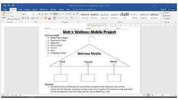 Wellness Mobile Project