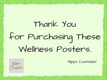 Wellness Posters
