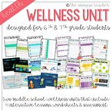 Wellness Unit 1 & 2 Bundle