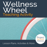The Wellness Wheel Worksheet - Middle School Health Lesson Plan