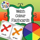 Welsh Colours Flashcards