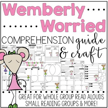Wemberly Worried Comprehension Guide & Craft