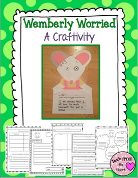 Wemberly Worried Craftivity & Printables