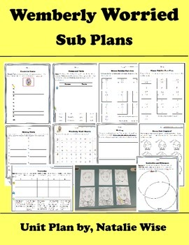 Wemberly Worried Emergency Sub Plans Sub Tub with Directed