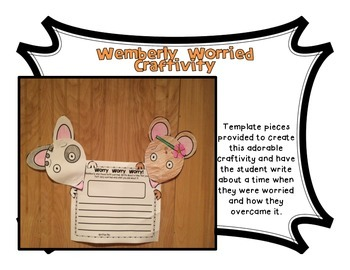 Wemberly Worried - Keven Henkes - Flap Book Companion and Craftivity