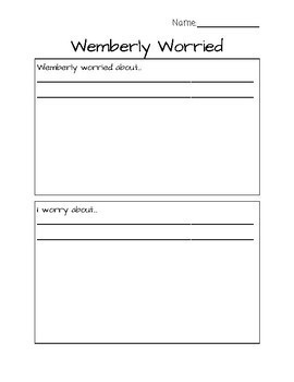 Wemberly Worried - Making Text-to-Self Connections
