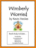 Wemberly Worried Unit: Vocabulary, Comprehension, Sequencing, and More!!