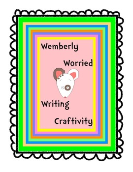Wemberly Worried Writing Template/Craftivity Back to School