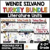 Turkey Trouble Activities BUNDLE | Wendi Silvano Turkey Books w/ Digital Option
