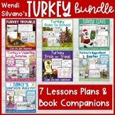 Wendi Silvano's Turkey Read Aloud Lessons and Book Companion BUNDLE