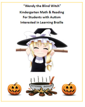 K - 2  Wendy the Blind Witch - Halloween - AS Autism - Reading - Math