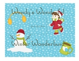 Wendy's Wonderful Winter Wonderland Easy 2-Digit Subtraction