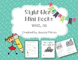 Went, on Sight Word Mini Book