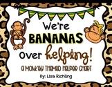 We're Bananas Over Helping Editable Monkey Job Chart