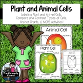 Cells: Plants and Animals {Anchor Charts, Labeling Cells,