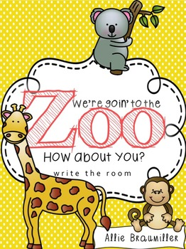 We're Goin' to the Zoo: Write the Room