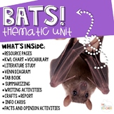 Bat Activities and Thematic Unit