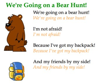 we 39 re going on a bear hunt song and sorting activity forsmartboard. Black Bedroom Furniture Sets. Home Design Ideas