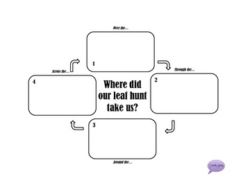 We're Going On A Leaf Hunt - A Print and Go Activity Packet